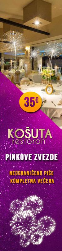Restoran Kosuta Nova godina