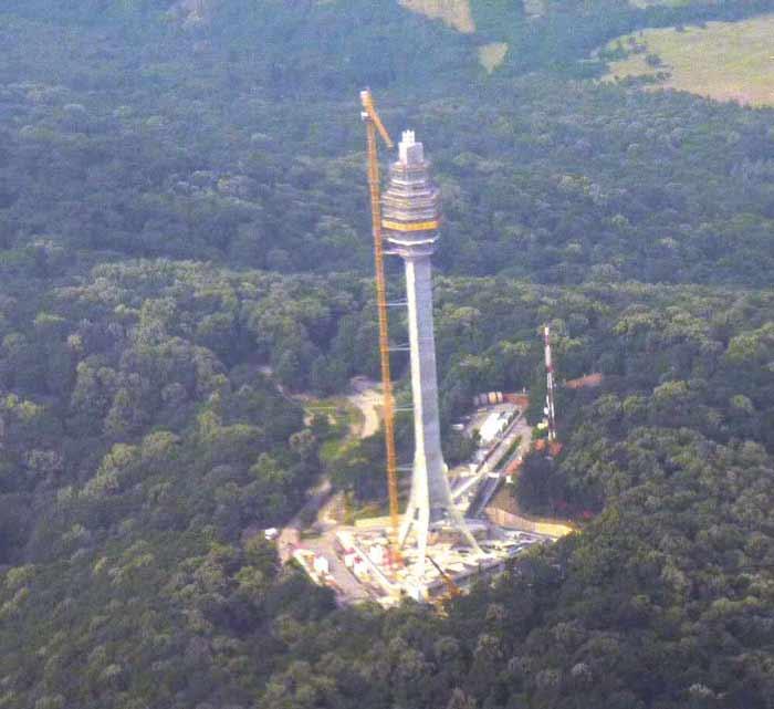 novi avalski toranj u zavrsnoj fazi