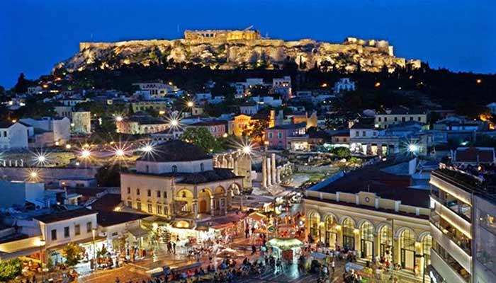 Plaka Atina Nova godina