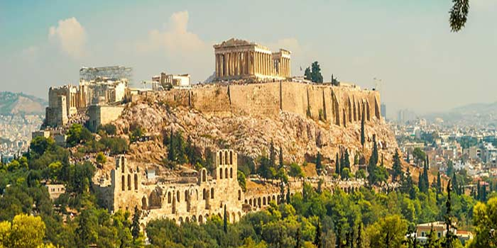 Akropolj Atina Nova godina