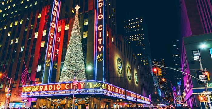njujork docek nove godine trg