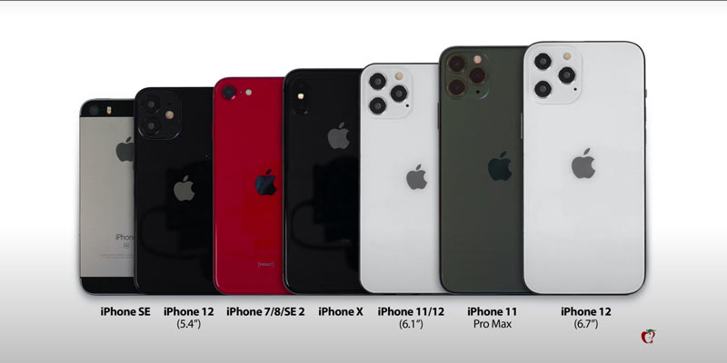 iphone 12 velicina