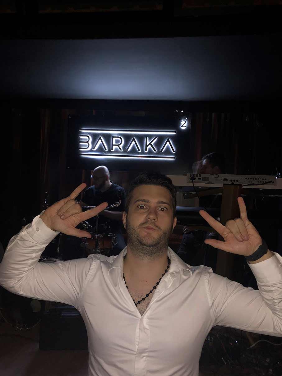 Lukijan Ivanović u Baraci
