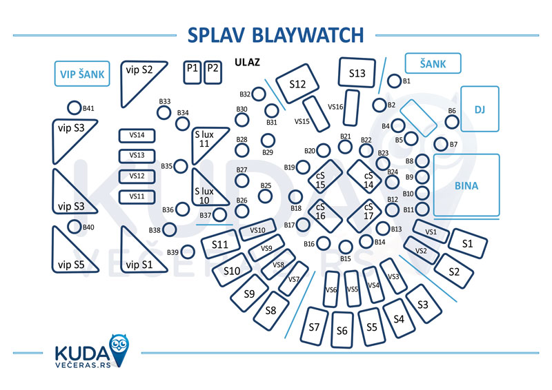 splav blaywatch mapa