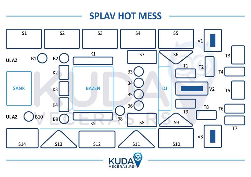 hot mess mapa