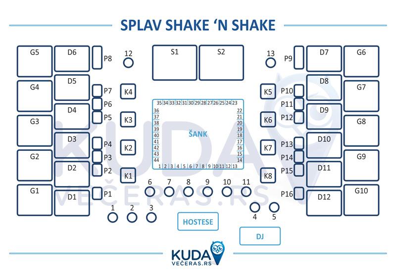 shake n shake mapa lokala