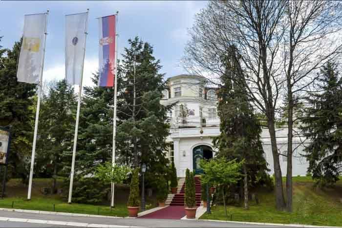 Vila Jelena Lokacija