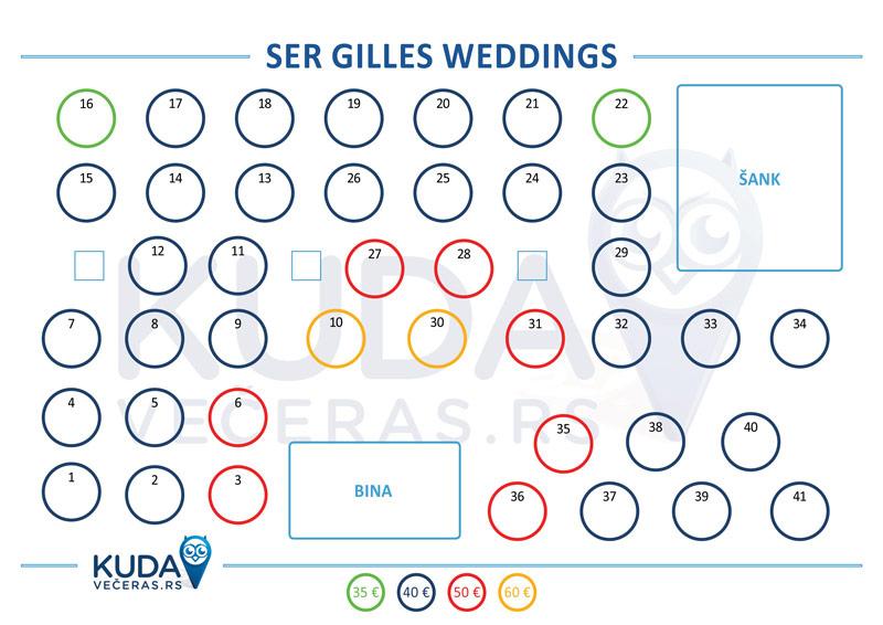 Ser Gilles Mapa