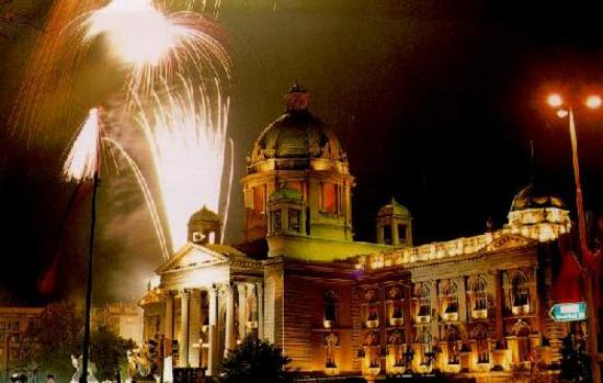Nova godina u Beogradu