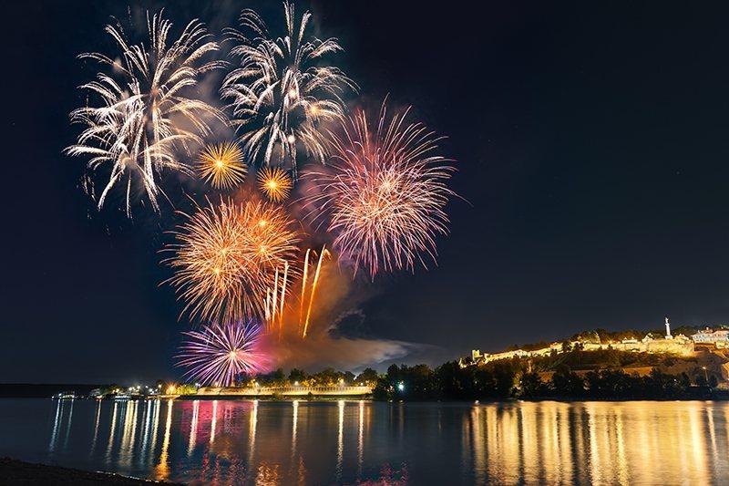 Nova godina Beograd Vatromet