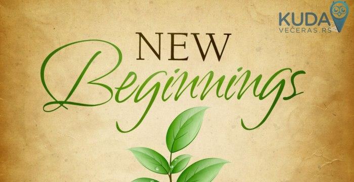Novi početak - Nova energija!