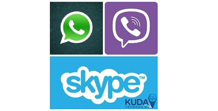 Viber,  WhatsApp i  Skype friendly