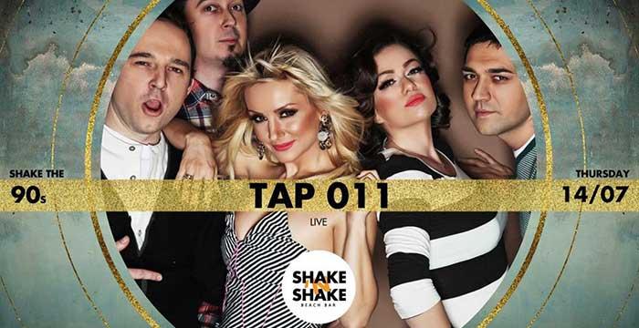 Tap 011 na splavu Shake'n'Shake