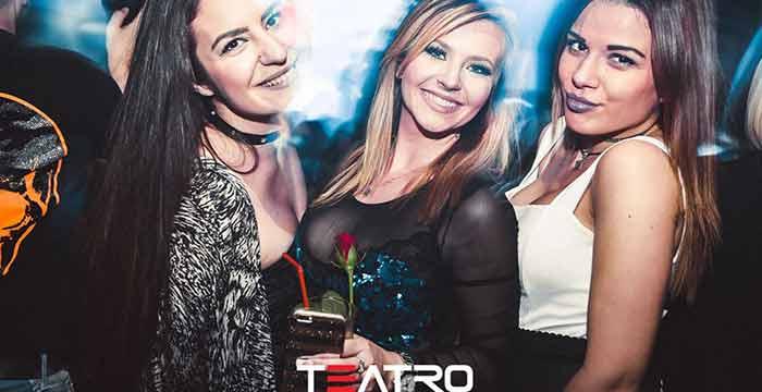 Lude žurke u klubu Teatro