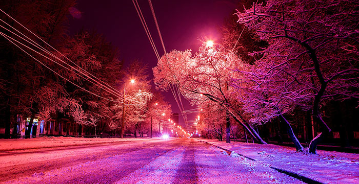 Kako da vozite bezbedno tokom izlazaka zimskim noćima
