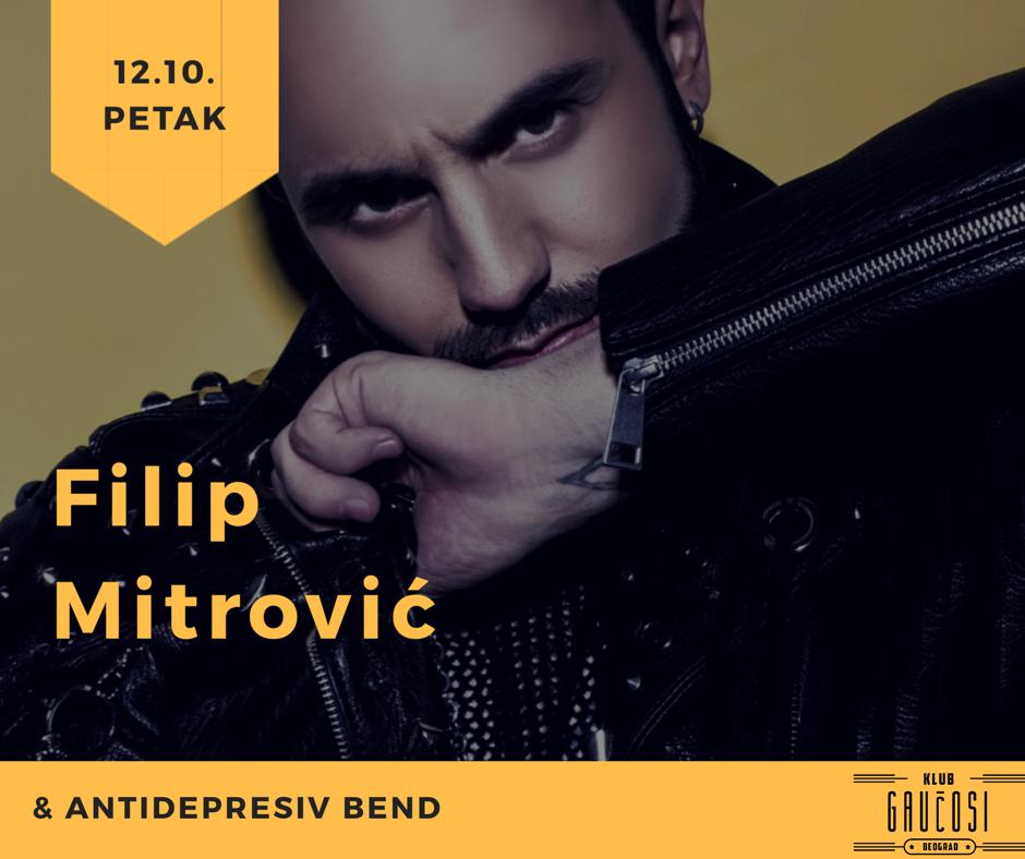 Kafana Gaučosi - petak sa Filipom Mitrovićem