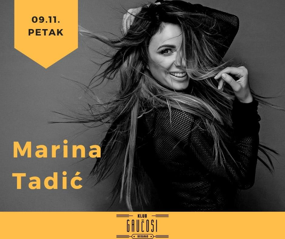 Gaučosi, Marina Tadić i Kuda Večeras pozivaju vas na najbolji petak u Beogradu. Isčekuje se ponuda za Novu godinu.