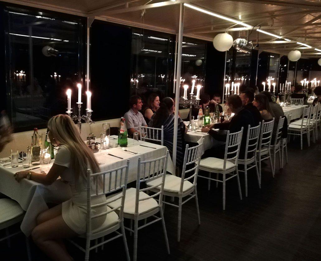 Osetite čaroliju na Brod Restoranu Jahting Klub Kej