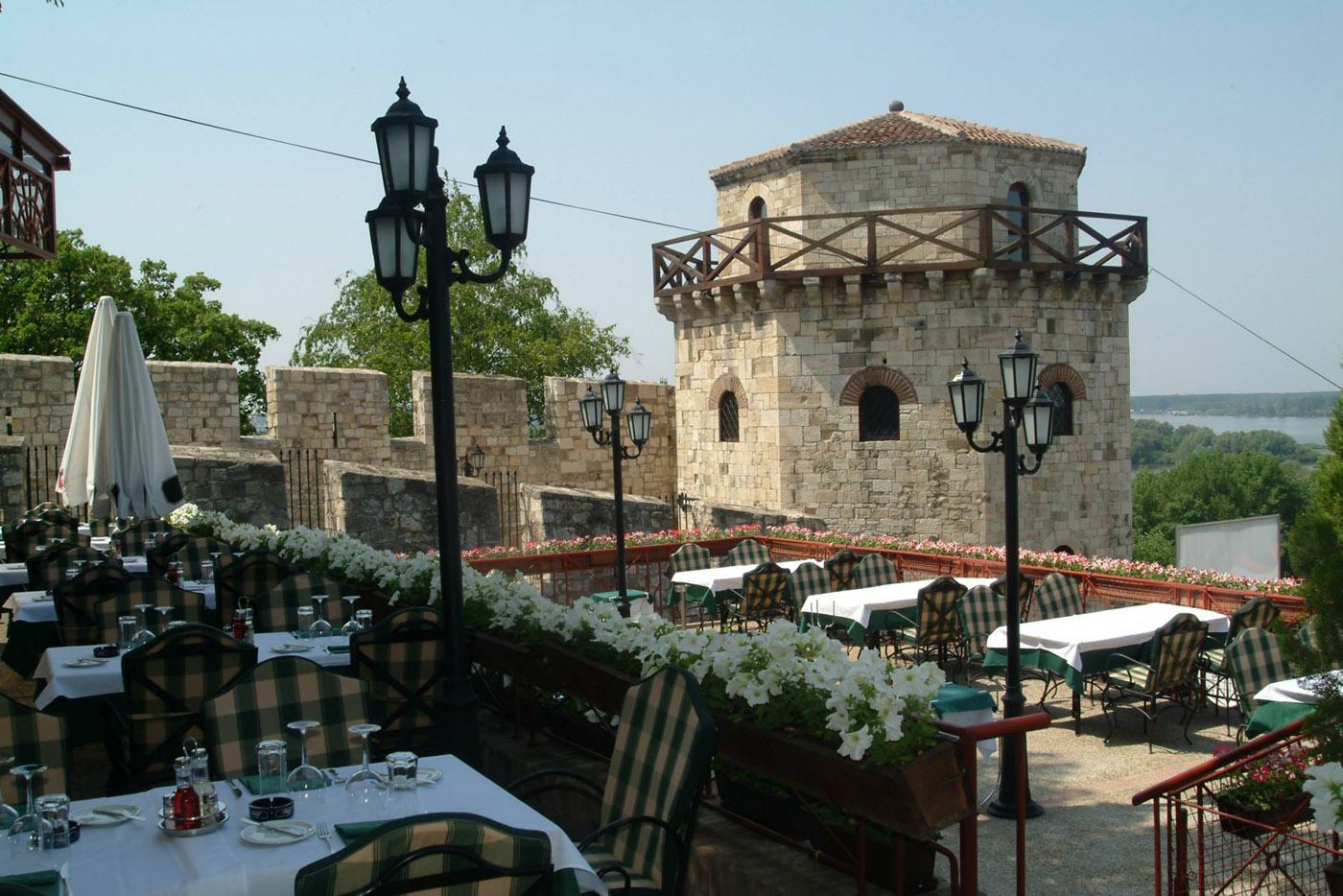 Legendarni Restoran Kalemegdanska terasa