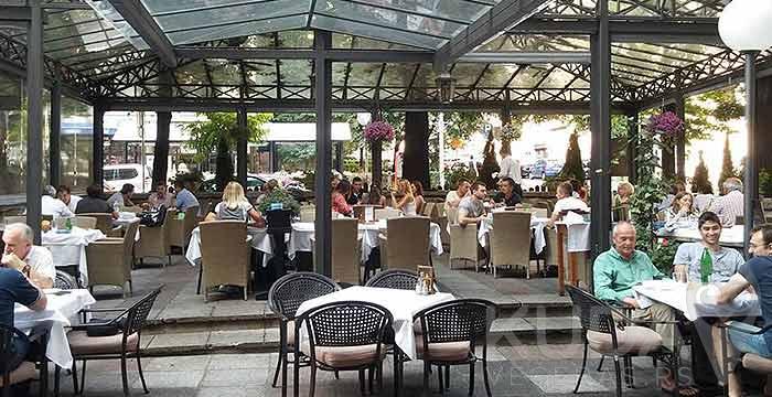 Uživajte u bašti Restorana Lovac