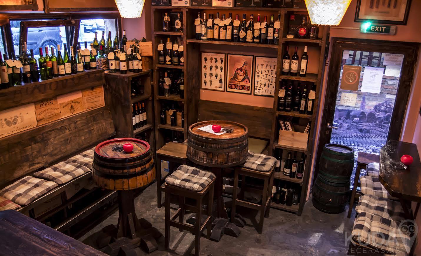 Pravo mesto za ljubitelje vina – Barbaresco Wine Shop & Bar