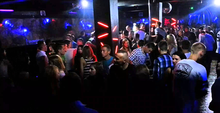 Luda atmosfera u Klubu Underground