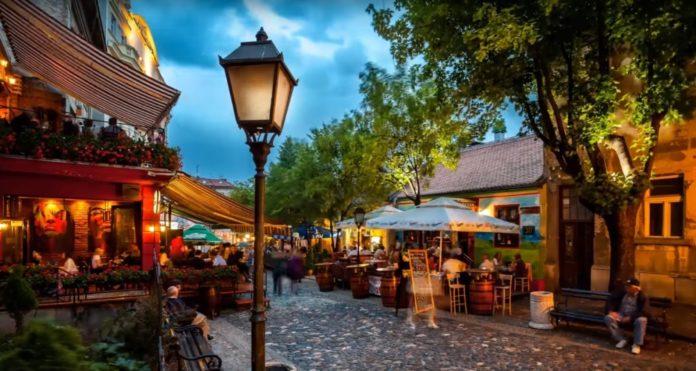 Skadarlija -  Beograd i restorani koji traju