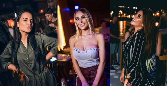 Tri najbolje obučene devojke na splavu Uzbuna