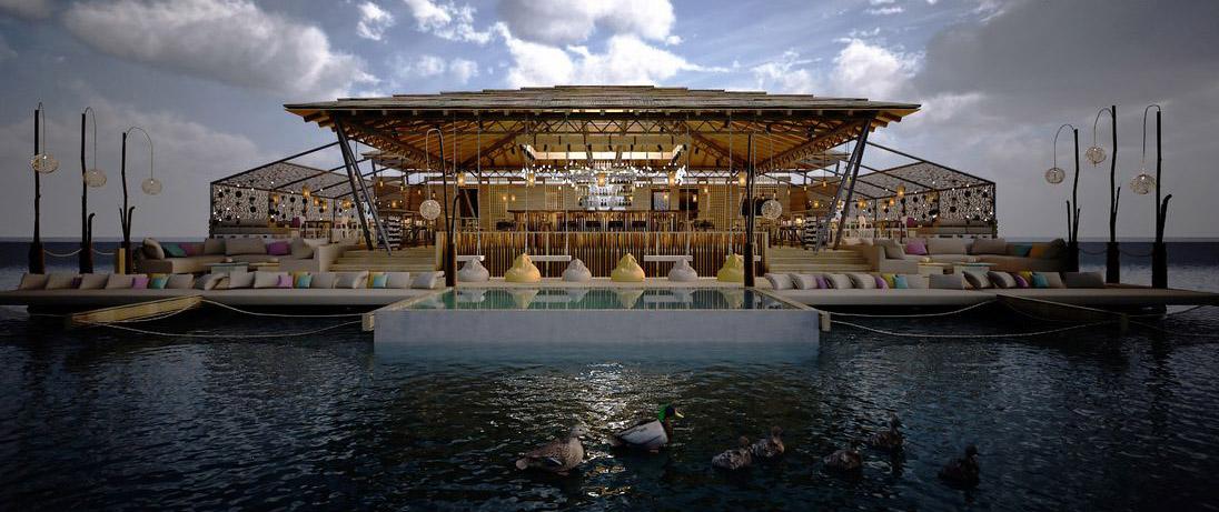 Doživljaj pustog ostrva na Splavu Shake 'n' Shake