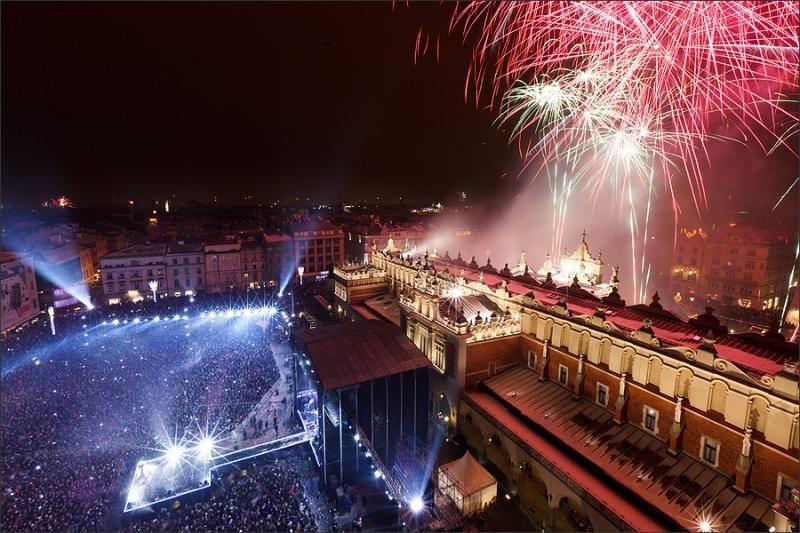 Doček Nove Godine u Krakovu