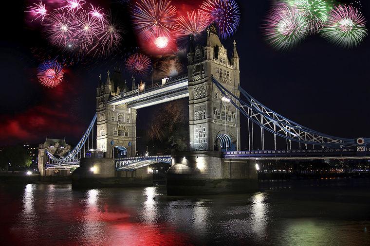 Nova Godina u Londonu