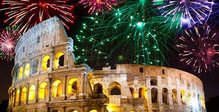 Doček Nove godine u Rimu