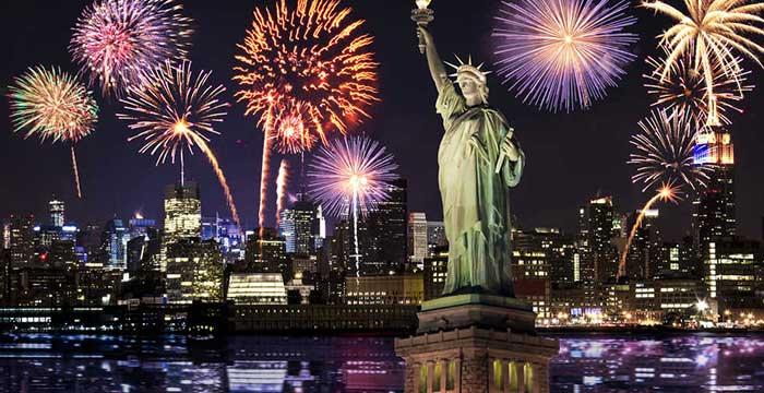 Doček Nove godine u Njujorku  na trgu