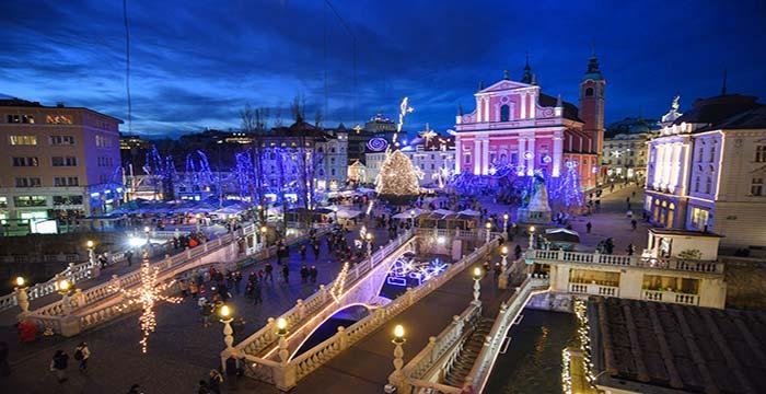 Nova godina 2020 Ljubljana
