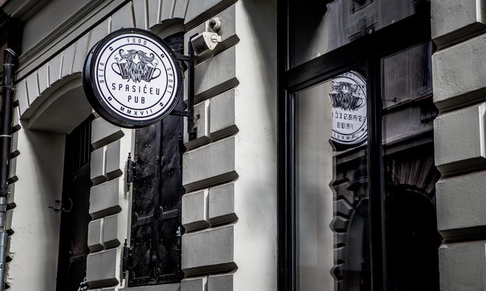 Spasićev pub i zabava u centru Beograda