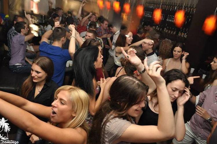 Osetite Dominikanu u Klub baru Santo Domingo