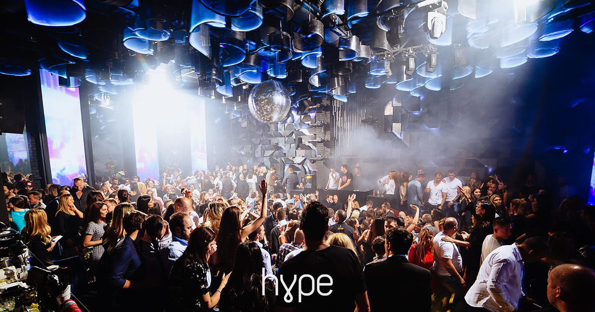 Žurke uz najpriznatije DJ-eve u Klubu Hype