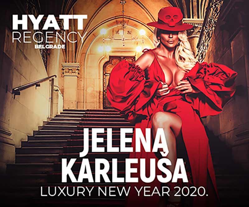 Jelena Karleuša u hotelu Hayat- Nova godina