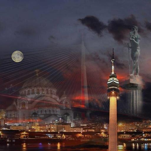 Beograd noću!