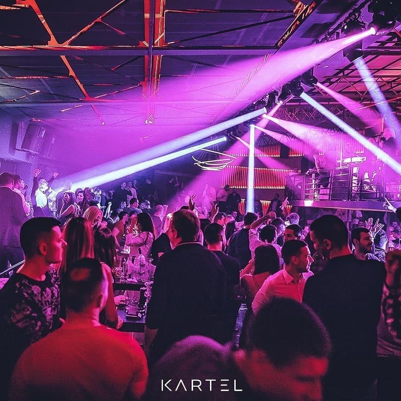 Splav Kartel Nova godina u Beogradu