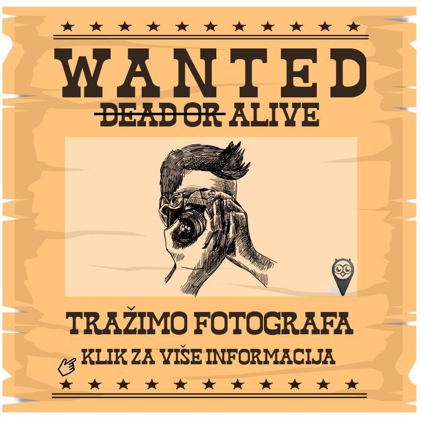 Tražimo pojačanje! Portal Kuda Večeras traži fotografa