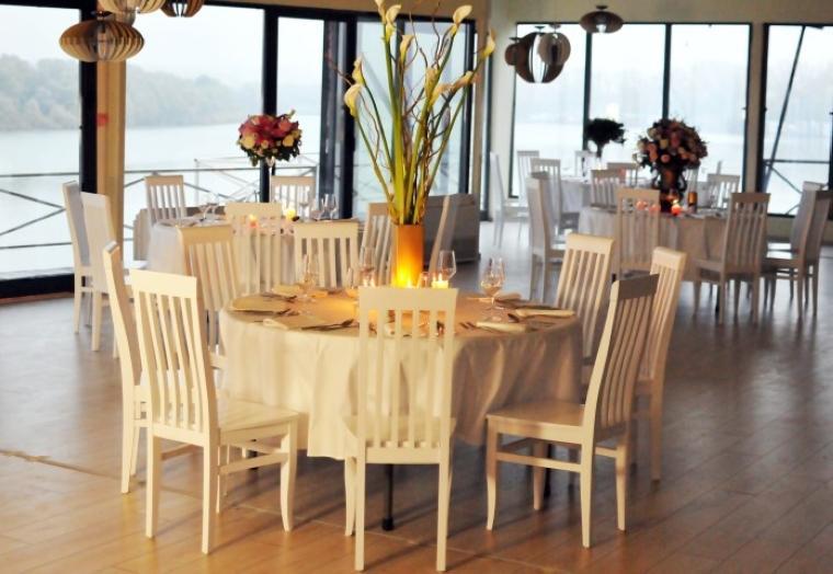 Elegantan doček na splav restoranu Gabbiano
