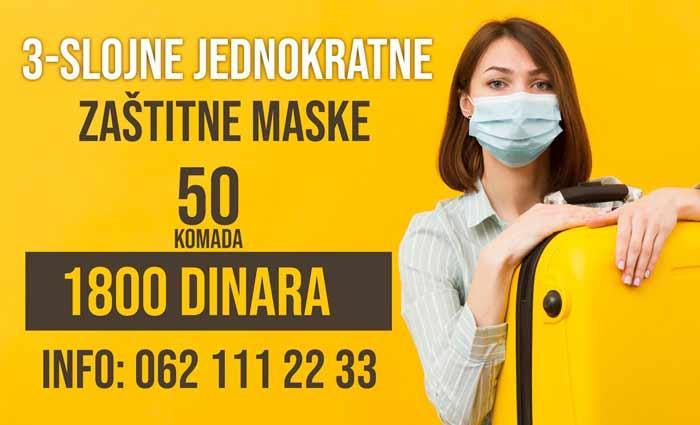 Gde kupiti najjeftinije jednokratne zastitne maske