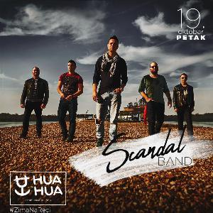 Splav Hua Hua - Petak uz Scandal Band!