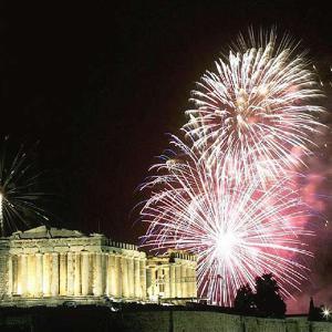 Nova godina 2020 u Atini