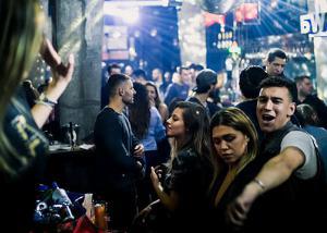 Subota veče u klubu Brankow