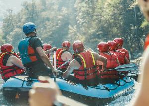 4 razloga zašto je rafting sjajno provedeno vreme