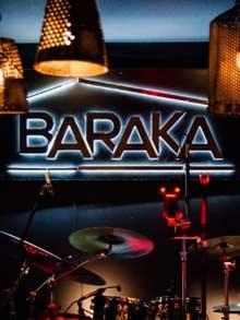 Klub Restoran Baraka Doček Nove godine