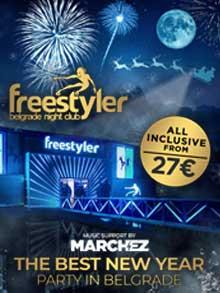 Splav Freestyler Nova godina