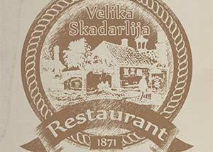Restoran Velika Skadarlija